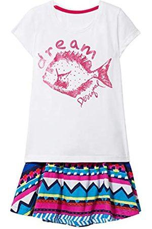 Desigual Girl Knit T-Shirt Short Sleeve (Pack_pomo) Camiseta