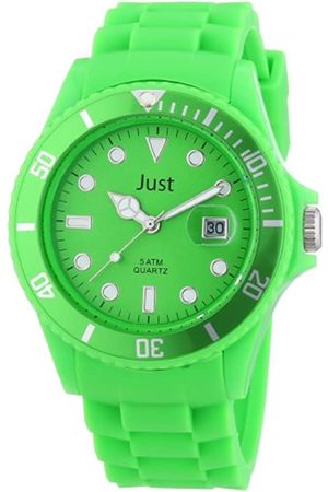 Just Watches Rubber Strap Collection 48-S5457-GR - Reloj analógico de Cuarzo Unisex