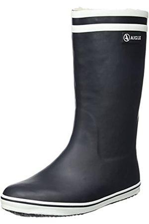 Aigle Malouine Fur, Botas de Nieve para Mujer, (Marine)