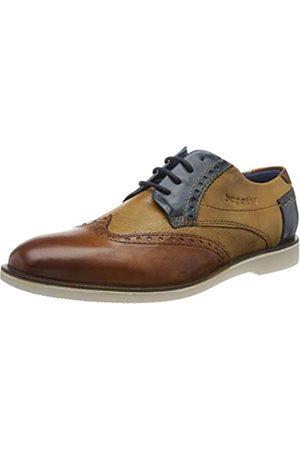 Bugatti 312647034141, Zapatos de Cordones Derby para Hombre, (Cognac/Sand 6353)