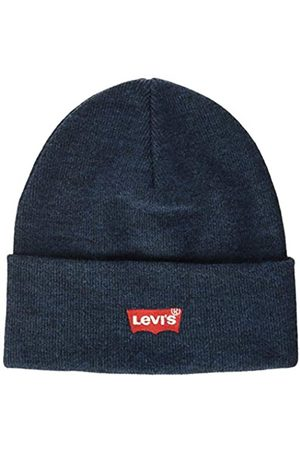 Levi's Levis Footwear and Accessories Red Batwing Embroidered Slouchy Beanie Gorro de Punto