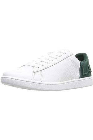 Lacoste Carnaby EVO 419 2 SFA, Zapatillas para Mujer, (Wht/Dk Grn 1r5)