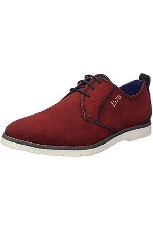 Bugatti 311919011400, Zapatos de Cordones Derby para Hombre, (Red 3000)