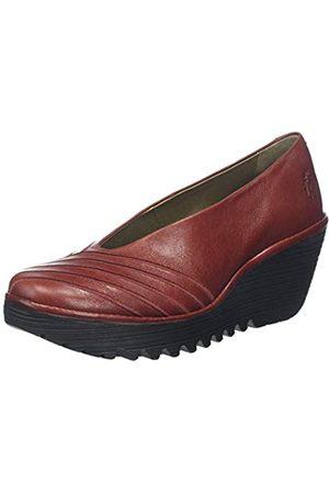 Fly London Yaku063fly, Zapatos de tacón para Mujer, (Red 008)