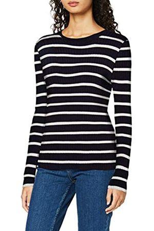 Only Onlnatalia Stripe L/s Pullover Knt Noos Suéter