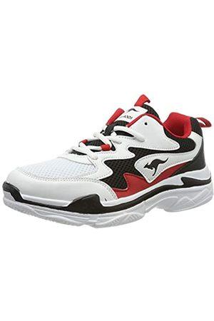 KangaROOS Wave, Zapatillas para Mujer, (Jet Black/Red 5069)