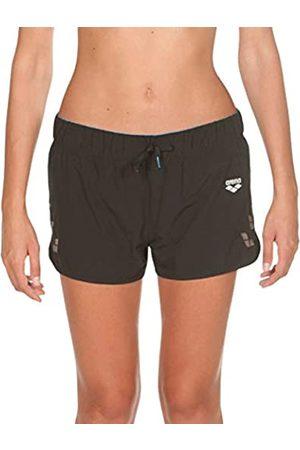 Arena W Run Short Shorts para Correr Mujer, Black