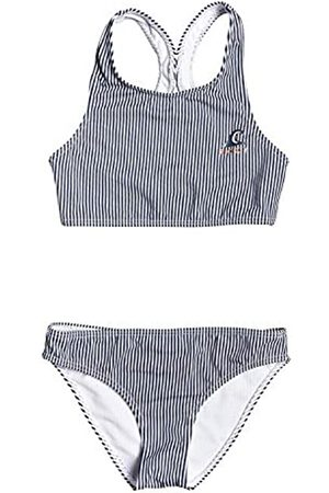 Roxy Early Conjunto De Bikini Crop Top para Chicas 8-16, Niñas