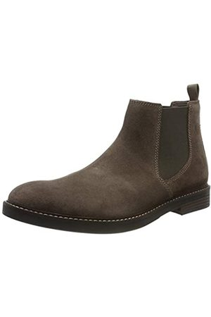 Clarks Paulson Up, Botas Chelsea para Hombre, (Taupe Suede Taupe Suede)