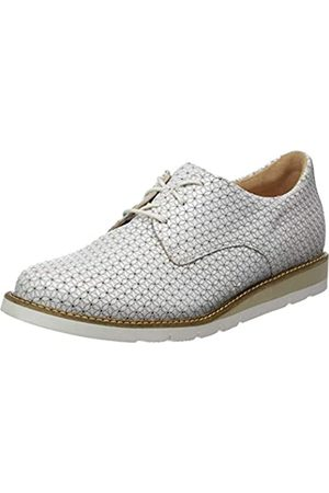 Ganter Fritzi-f, Zapatos de Cordones Derby para Mujer, (offwhite 0400)