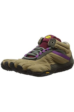 Vibram Trek Ascent Insulated, Zapatillas de Deporte Exterior para Mujer, (Khaki/Grape)
