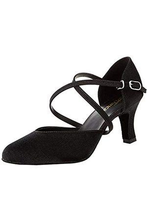 So Danca Bl156, Zapatos de Baile de Sociedad y Latina para Mujer, (Black Black)