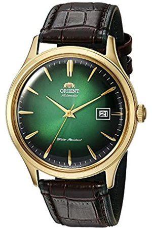 Orient Reloj Analógico para Unisex Adultos de Automático con Correa en Cuero FAC08002F0