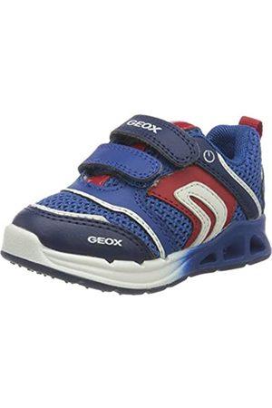 Geox B Dakin Boy A, Zapatillas para Bebés, (Royal/Red C0833)