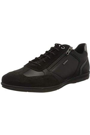 Geox U Adrien C, Zapatos de Cordones Oxford para Hombre, (Black C9999)