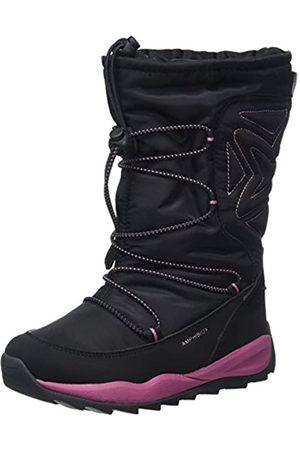 Geox J Orizont B ABX B, Botas de Nieve para Niñas, (Black)
