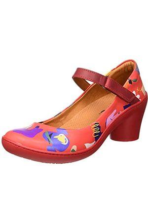 Art ALFAMA, Zapatos de tacón con Punta Cerrada para Mujer, (Babel Red Babel Red)