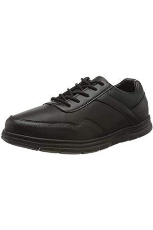 Chung Shi Canberra, Zapatos de Cordones Oxford para Hombre, (Schwarz II 8851011)