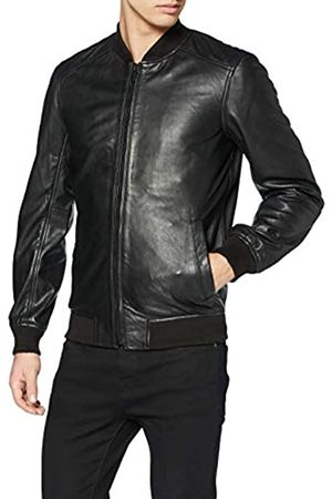 Superdry Light Leather Bomber Chaqueta