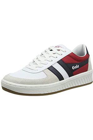Gola Grandslam RWB, Zapatillas para Hombre, (White/Navy/Red Web)