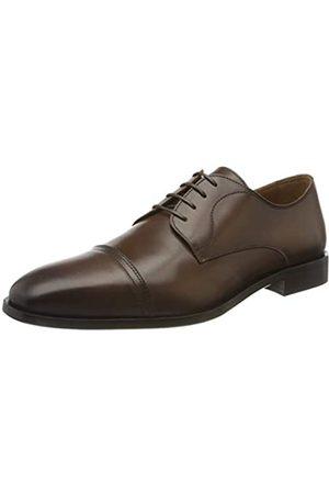 HUGO BOSS Lisbon_derb_buct, Zapatos de Cordones Derby para Hombre, (Medium Brown 217)