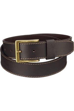 Wrangler Stitched Belt Brown, Cinturón para Hombre