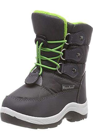 Playshoes Zapatos de Invierno Neon, Botas de Nieve Unisex Niños, (Gruen 29)