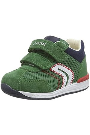 Geox B Rishon Boy B, Zapatillas para Bebés, (Green C3000)