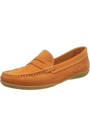 Marc O' Polo 215703101300, Mocasines para Mujer, (Orange 277)