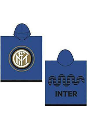 Inter 8916 020 2120 - Poncho de Rizo Esponjoso, 100% algodón, Color /Azul
