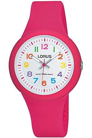 Lorus RelojAnalógicoparaNiñasdeCuarzoconCorreaenSiliconaRRX49EX9