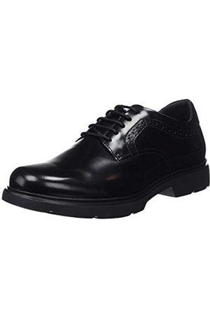Geox U Arrall A, Zapatos de Cordones Derby para Hombre, (Black C9999)