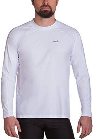 iQ-Company Loose Fit Camiseta de Manga Larga, Hombre