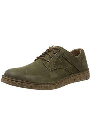 Josef Seibel Ruben 46, Zapatos de Cordones Derby para Hombre, (Moos-Kombi 796 681)