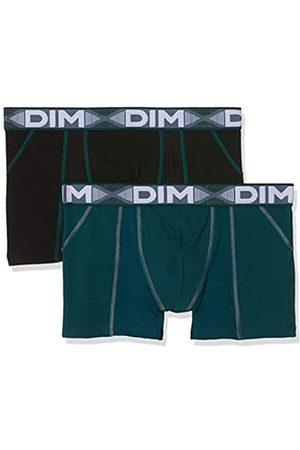 Dim Sous-vêtements Homme 3D Flex Air Boxer X2, (Vert Pacific/Noir 8nv)
