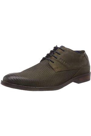 Bugatti 3.11528E+11, Zapatos de Cordones Derby para Hombre, (Dark Green 7100)