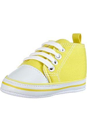 Playshoes Primeros Zapatos, Zapatillas Casual Unisex bebé, (Gelb 12)