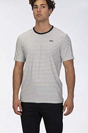 Hurley M Feeder Stripe S/S Camisa, Hombre