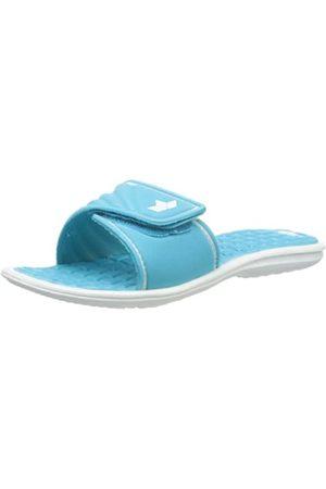 LICO Malediven, Zapatos de Playa y Piscina para Mujer, (Tuerkis/Weiss Tuerkis/Weiss)