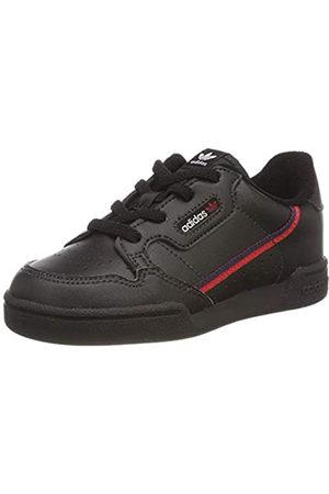 adidas Continental 80 I, Zapatillas de Deporte Unisex niño, (Negbás/Escarl/Maruni 000)