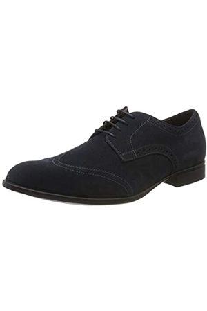 Geox U Iacopo D, Zapatos de Cordones Derby para Hombre, (Navy C4002)