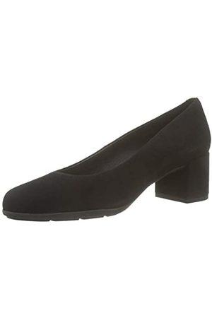 Geox D New ANNYA Mid A, Zapatos de Tacón para Mujer, (Black C9999)