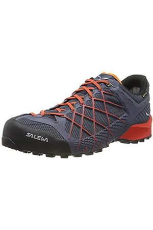 Salewa Ms Wildfire GTX, Zapatos de Low Rise Senderismo para Hombre, (Ombre Blue/Fluor Orange 3845)