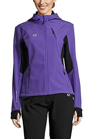 Ultrasport Advanced Chaqueta softshell para mujer Bibi, chaqueta funcional moderna de dos colores, chaqueta outdoor