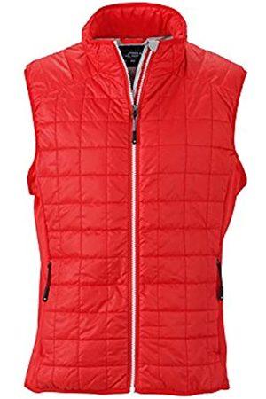 James & Nicholson Hombre Hybrid Vest Chaleco, Hombre, Hybrid Vest