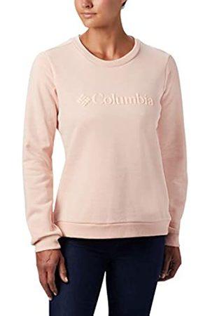 Columbia Model Sudadera sin Capucha con Logo, Mujer
