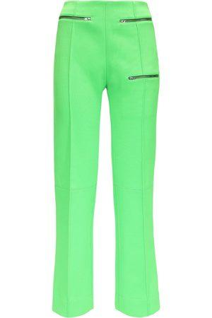 Kwaidan Editions | Mujer Pantalones De Jersey Con Pierna Slim 34