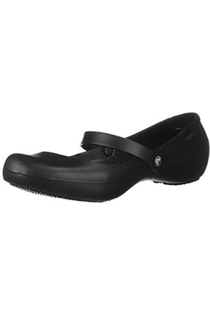 Crocs Alice Work, Mujer Zapato plano, (Black)