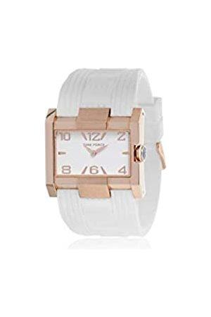 Time Force Reloj analogico para Mujer de Cuarzo con Correa en Caucho TF4033L11