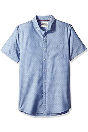 Goodthreads Marca Amazon – – Camisa dobby de manga corta y corte estándar para hombre